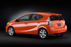 Prius c Available Spring 2012