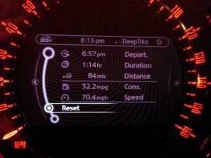 Mini Coupe JCW Fuel Economy
