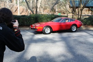 Vintage Ferrari Drive & Photo Shoot