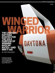 1969 Dodge Charger Daytona: Spoiler Alert!