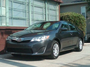 2012 Toyota Camry LE: First Look