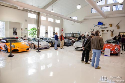 atlanta private car collection living vroom