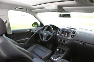 2013 Volkswagen Tiguan panoramic sunroof