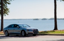 The 2013 Audi A8 L won the Luxury Choice award at GAAMA's 2013 Family Choice Challenge at Lake Lanier Islands Resort.