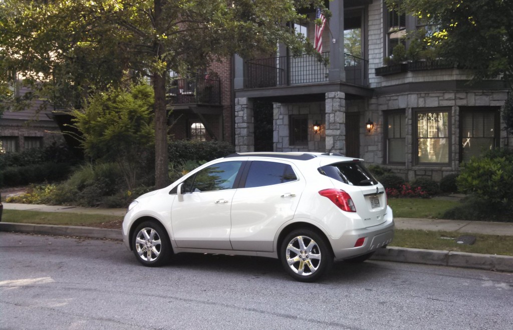 First Look: 2013 Buick Encore Premium FWD