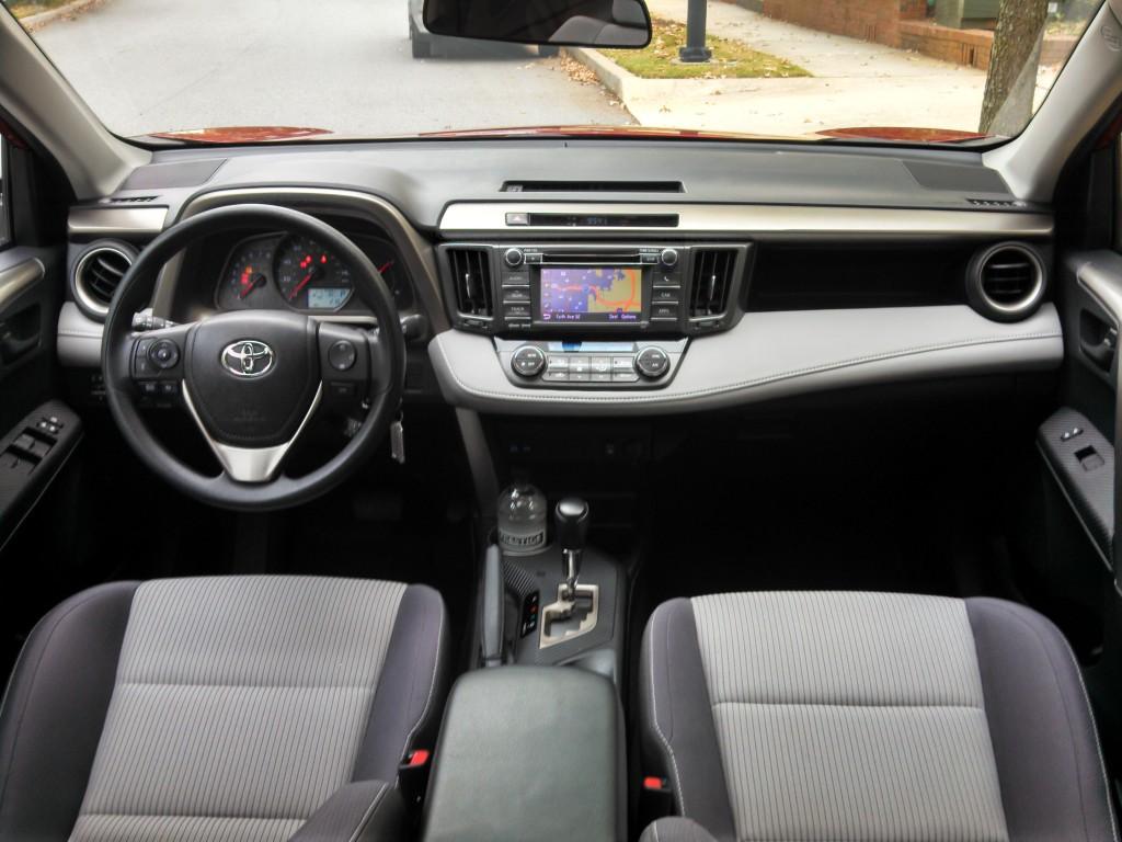 2013 Toyota RAV4 XLE fwd interior Entune navigation - LivingVroom