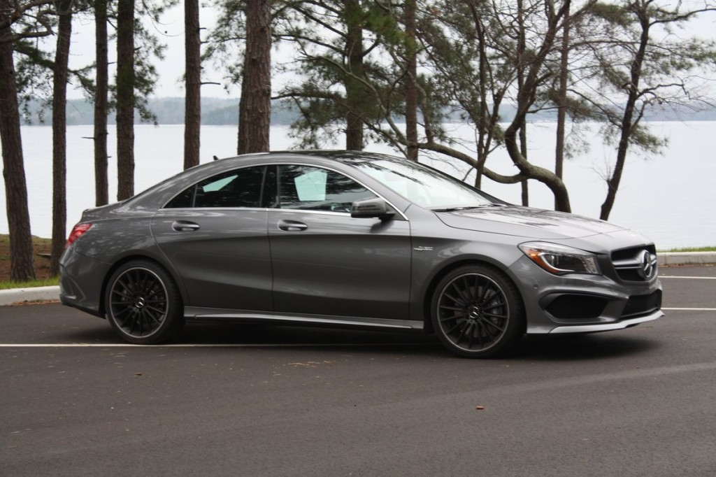 2014 Mercedes-Benz CLA45 AMG review - side