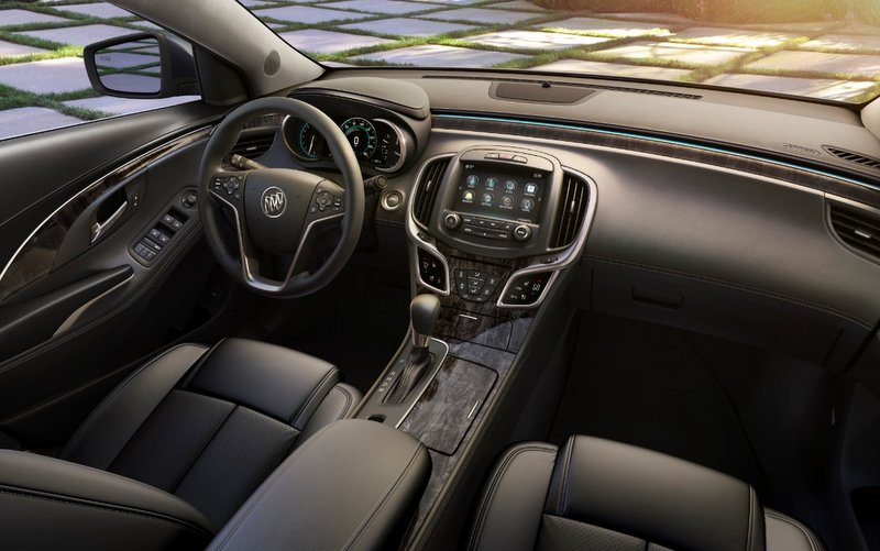 2015 Buick LaCrosse OnStar 4G LTE interior