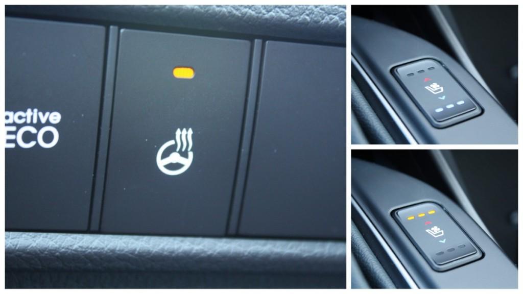 2014 Hyundai Santa Fe Sport heated steering wheel seats