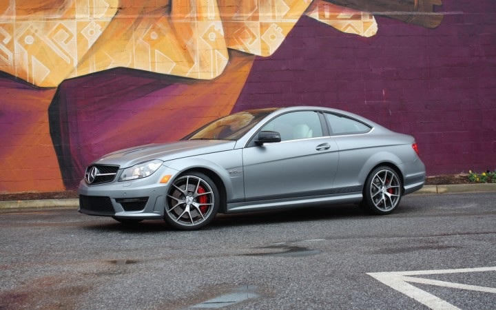 2014 Mercedes-Benz C63 AMG Coupe Edition 507: Street Art