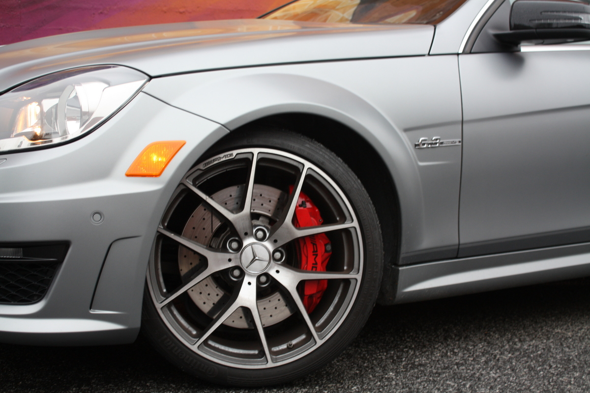 2014 mercedes benz c63 amg coupe edition 507 street art for 2014 mercedes benz c63 amg price