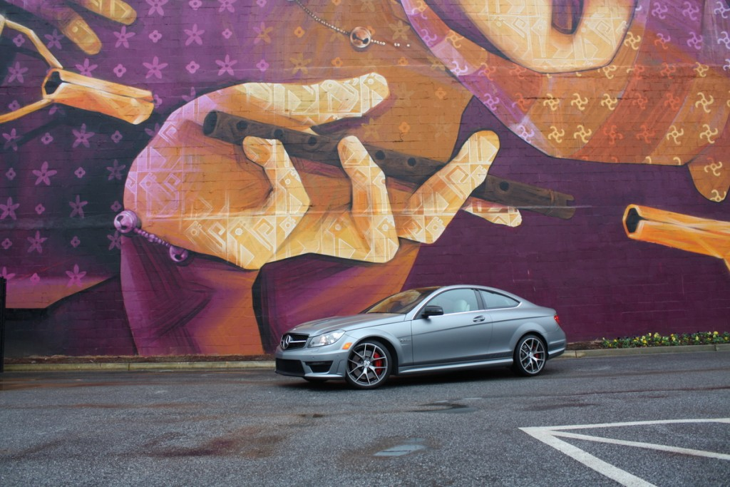 2014 Mercedes-Benz C63 AMG Coupe Edition 507 mural